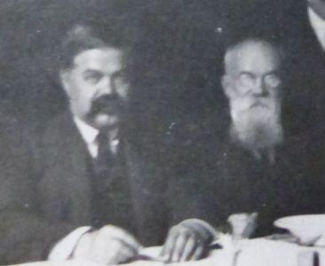 Фотокартки М. Шаповала, якому 26 травня 1917 р. виповнилося 35 років. [1920 р.]