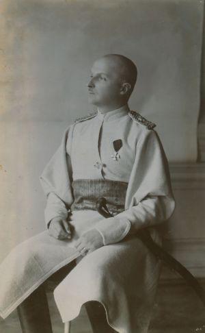 Фотокартки Гетьмана Усієї України П. Скоропадського, якому 15 травня 1918 р. виповнилося 45 років. [1918 р.]