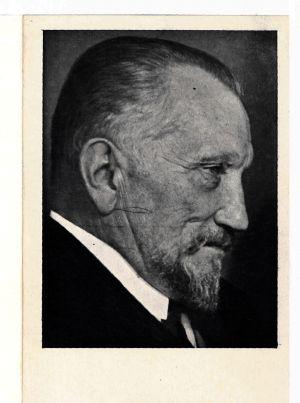 Фотокартка А. Лівицького, якому 9 квітня 1919 р. виповнилося 40 років.