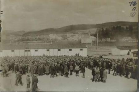 Фотографії полонених табору у Фрайштадті (Австрія)